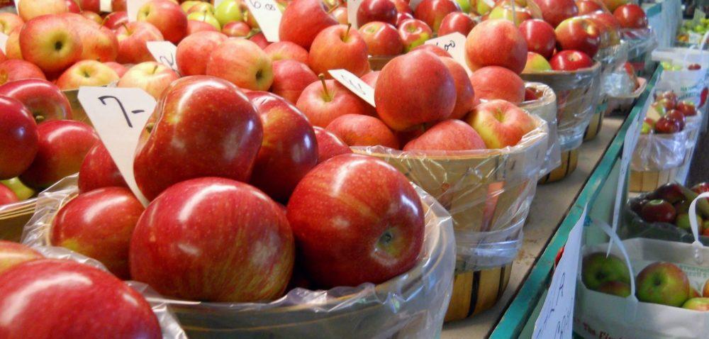 Zbiory jabłek wkrajach Wspólnoty Niepodległych Państw