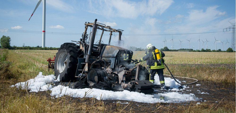 Zabezpiecz maszyny rolnicze przed następnymi zbiorami