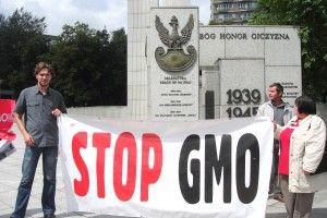 protest - odmiany gmo