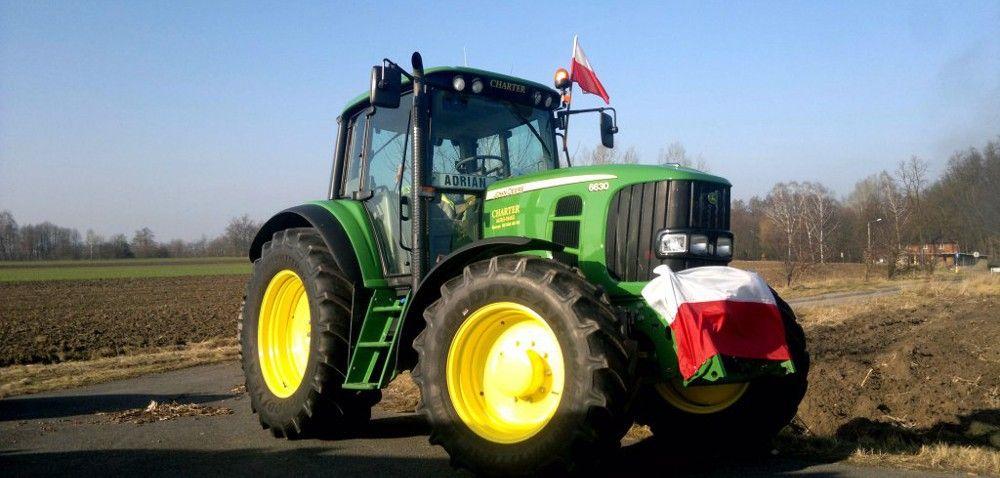 Protest rolników zWielkopolski