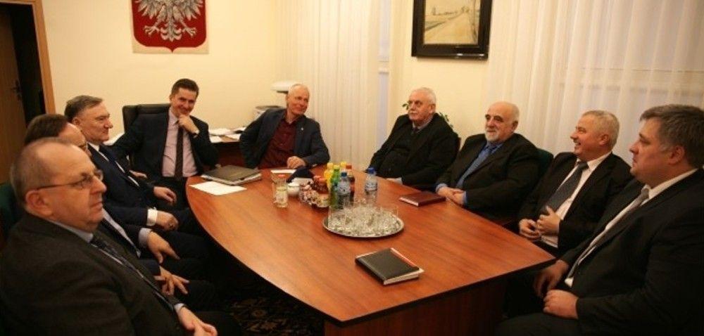 MRiRW: spotkanie zpodsekretarzem Romanowskim
