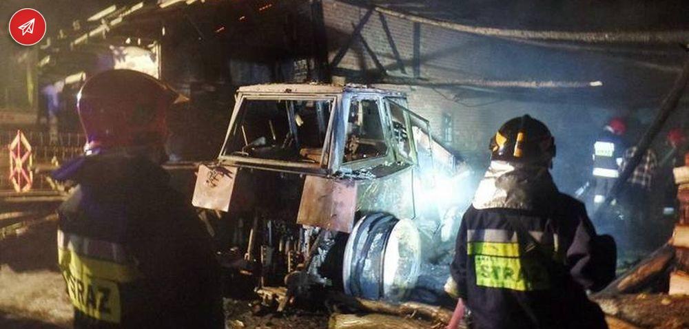 OSP: pożar wgminie Dobrzany