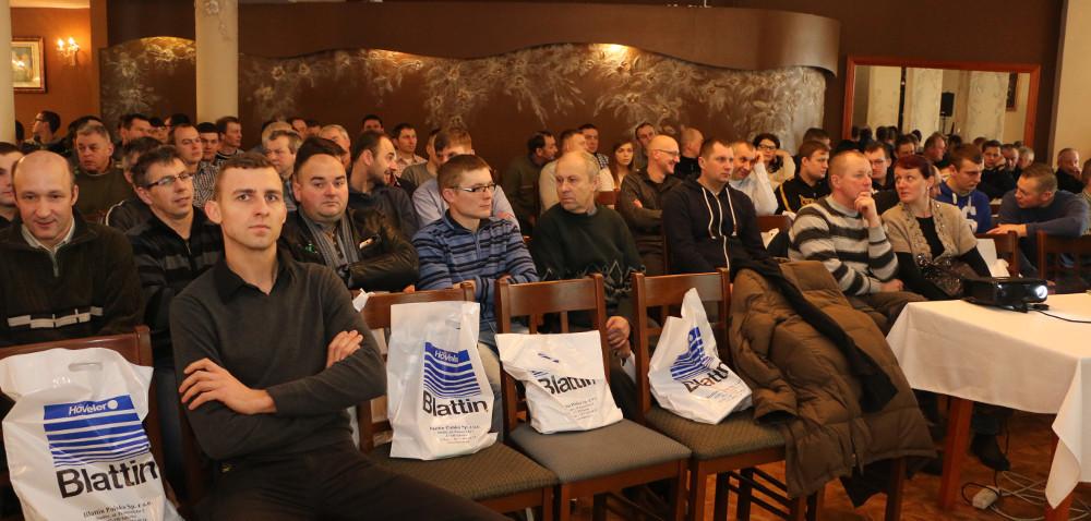 Przasnysz: ostatni dzień konferencji firmy Blattin