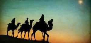 Trzej Królowie na wielbłądach