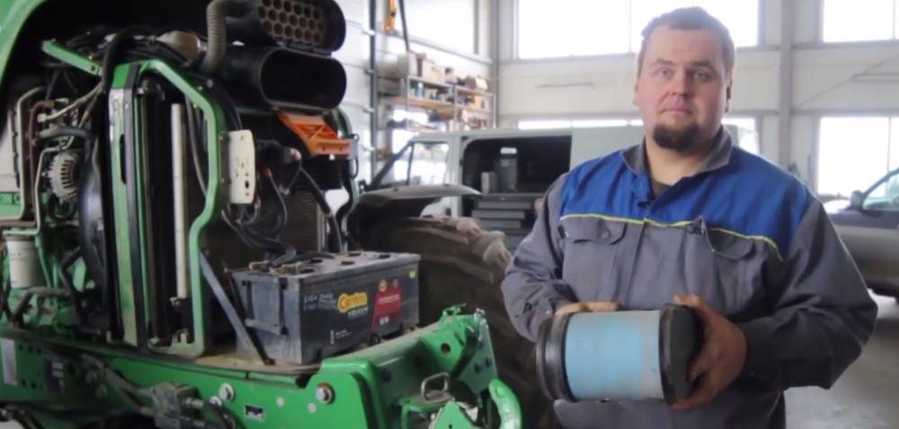 Mechanik radzi: serwis ciągnika