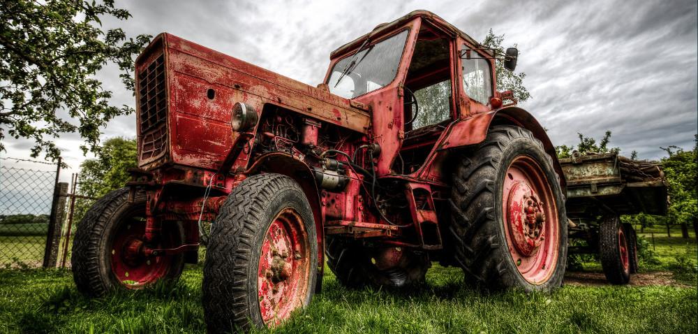 Urok starych maszyn rolniczych