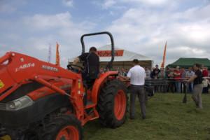 Kubota Tractor Show