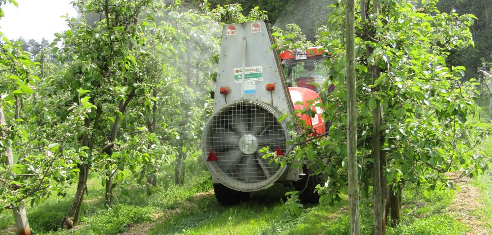 Bezpieczna produkcja sadownicza: ochrona wody igleby