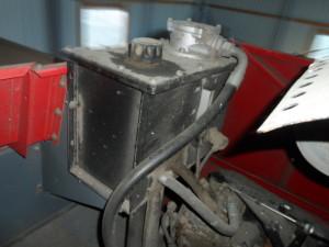 układ hydrauliczny kombajnu