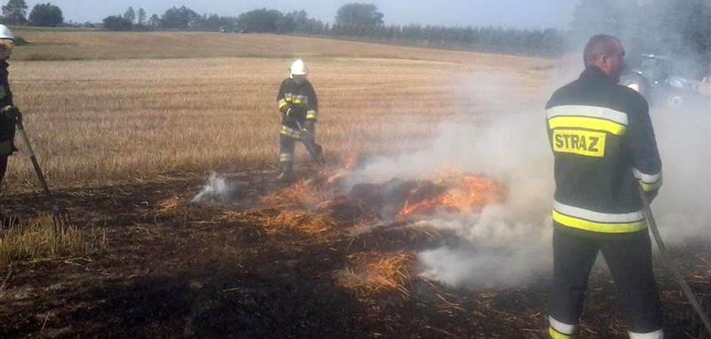 Kolejny pożar pola: to może się zdarzyć wszędzie!