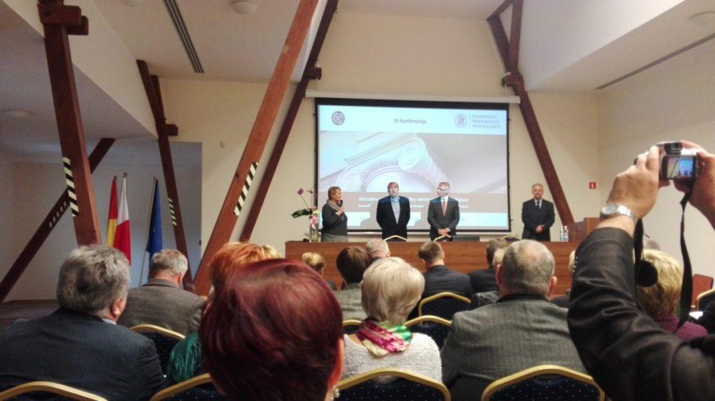 Podczas konferencji dyskutowano odyskusji opolskim systemie bezpieczeństwa żywności.
