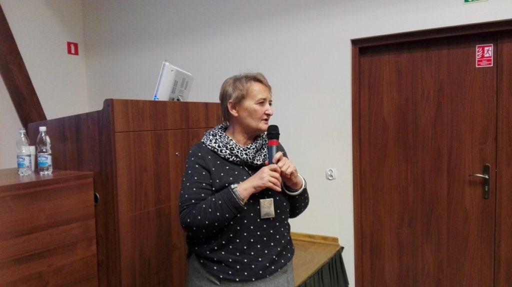 Wiceminister rolnictwa Ewa Lech.