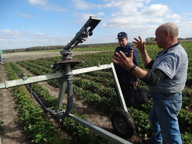 Znakowanie urządzeń rolniczych