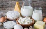 produktów mlecznych