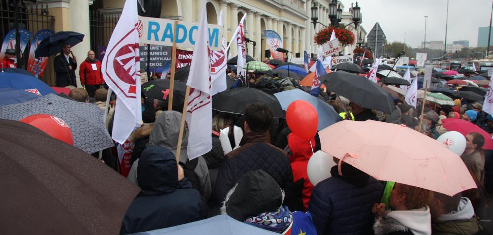 Pikiety wmiastach wojewódzkich: nie dla reformy oświaty!
