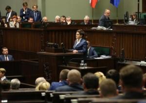 - Rząd przygotuje program pomocy - deklarowała premier Beata Szydło (fot.sejm.gov.pl)