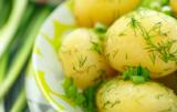 jedz ziemniaki