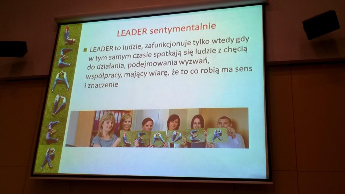 konferencja LEADER
