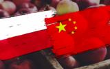 eksport polskich jabłek do chin