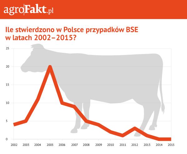 BSE choroba szalonych krów