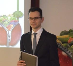 Piotr Barański, dyrektor Agrosimex Sp. zo.o.