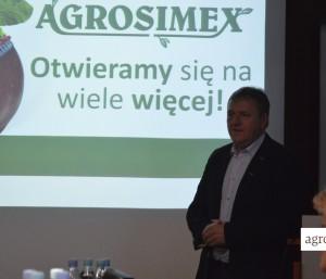 Janusz Miecznik, dyrektor. ds marketingu Agrosimex Sp. zo.o.