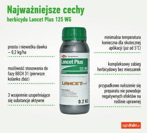 lancet 125 wg - herbicyd do zbóż ozimych