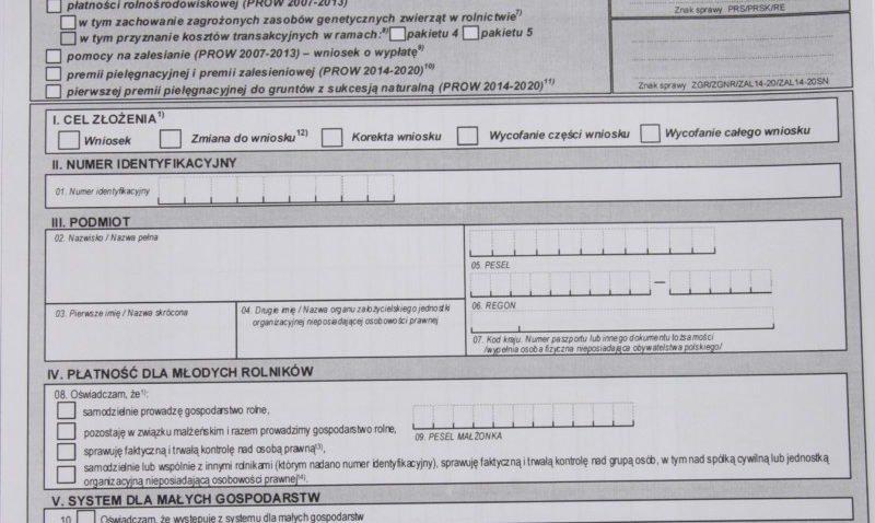 Tydzień na składanie wniosków opłatności bezpośrednie zPROW!