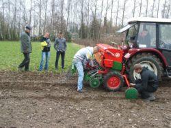 Mechanizatorzy radzą sobie wkażdych warunkach (fot. ZSCKR Bonin)