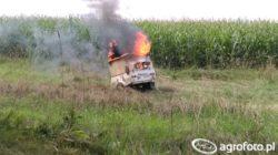 Agrocasco sprawdzi się po pożarze agregatu.