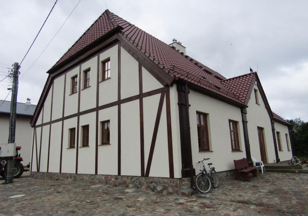 Odrestaurowanie starego folwarku zajęło kilka lat