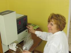 W laboratorium