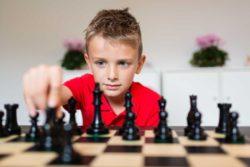 dziecko szachista