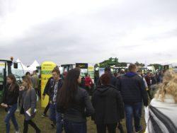 Zwiedzający Agro Show