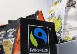 produkty fairtrade na półce