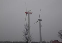 Fermy wiatrowe na wsi