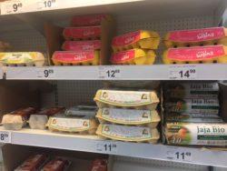 cena jaj wsklepach