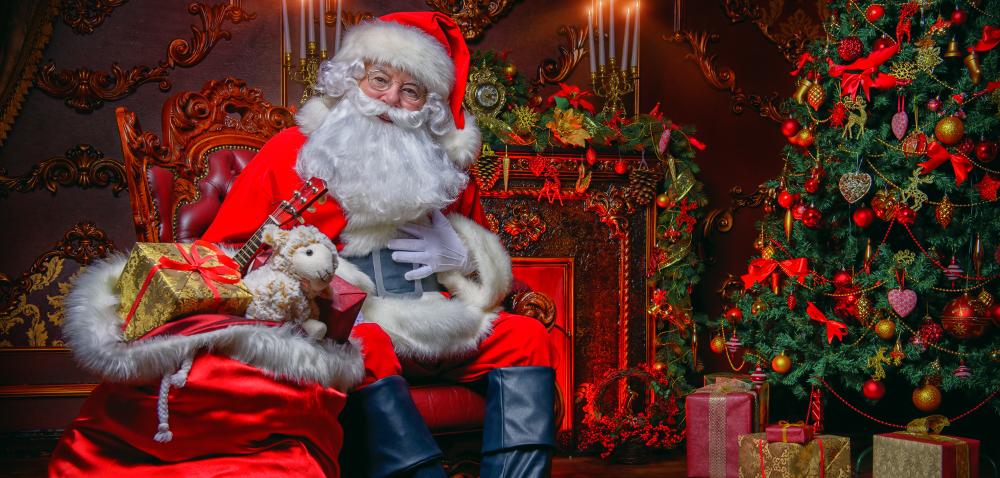 Historia świętego Mikołaja w100 sekund