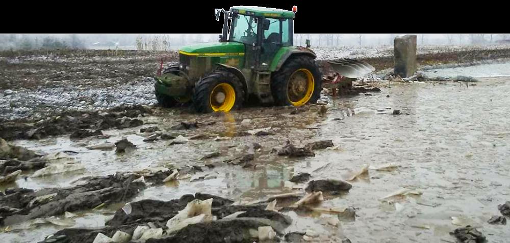 Wilgotność gleby podczas zabiegów agrotechnicznych