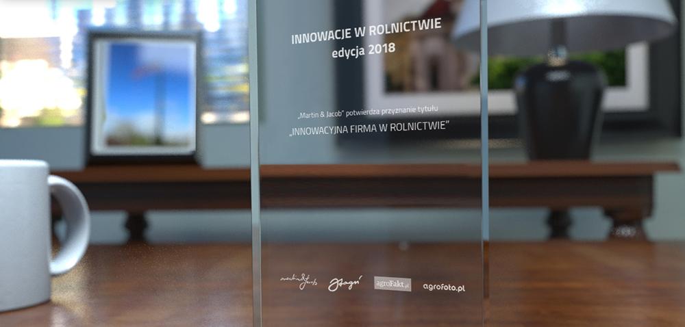 Innowacyjna firma wrolnictwie – nagrody przyznane