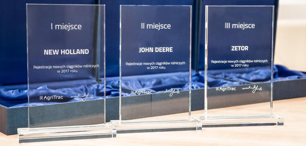 Nagrody AgriTrac: przyznano wyróżnienia dla producentów ciągników