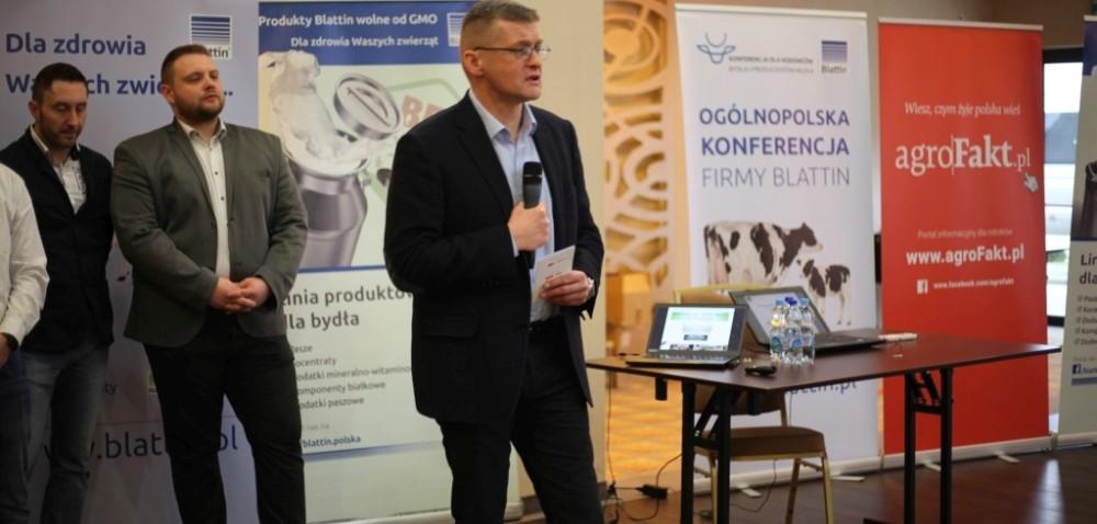 Efektywna produkcja mleka na konferencji Blattin wŁomży