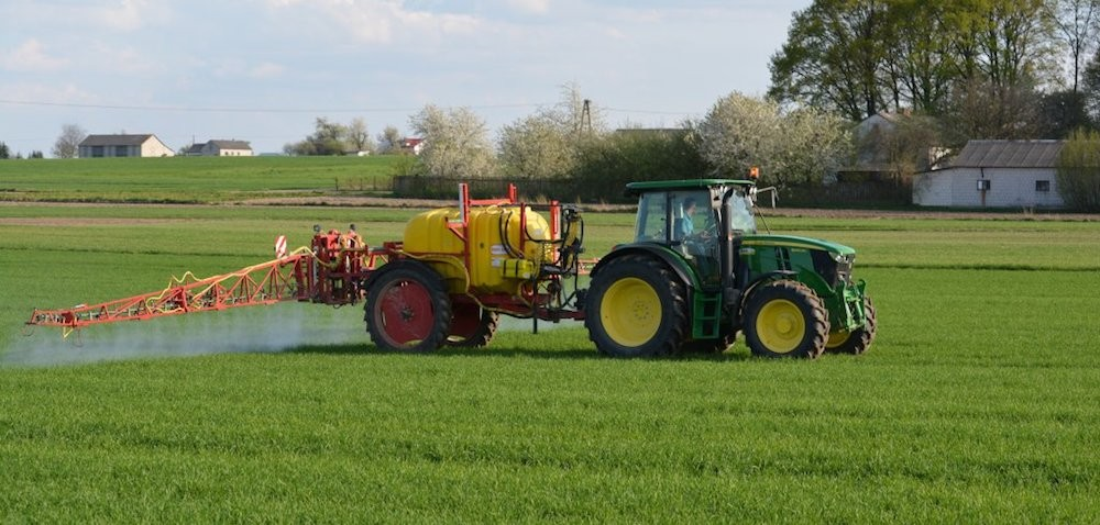 MCPA wodchwaszczaniu zbóż ozimych ijarych wiosną