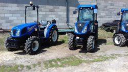 New Holland sadownicze ciągniki