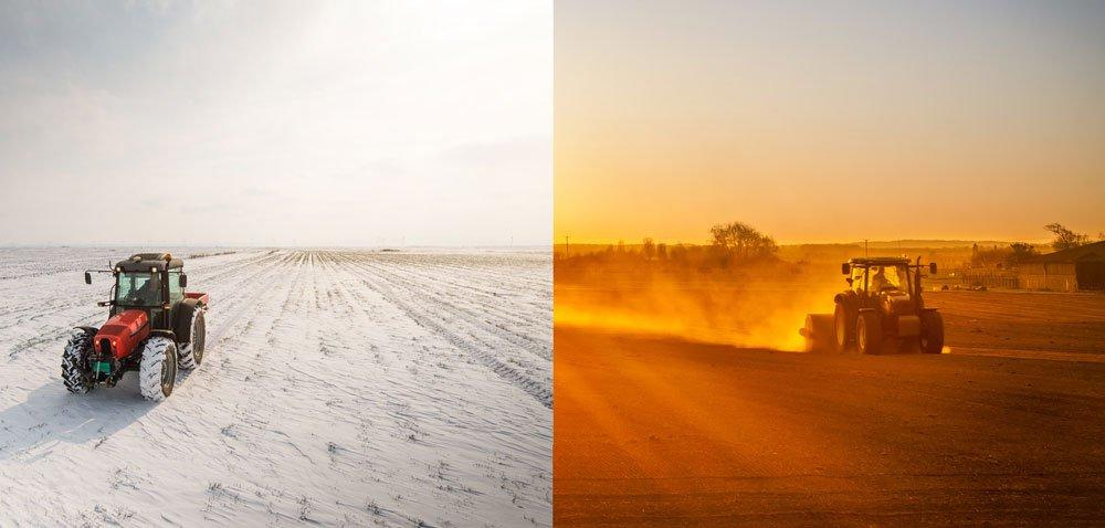 Jak rekordowe temperatury wpływają na sprzedaż ciągników?