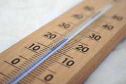 Rekordowe temperatury termometr