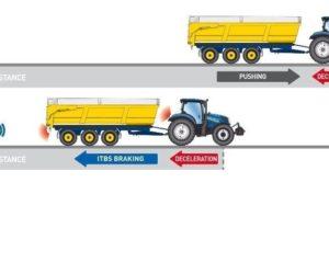 Bezpieczniejsze hamowanie ciągnika