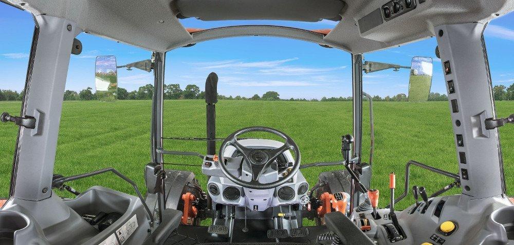 kabina operatora ciągnika