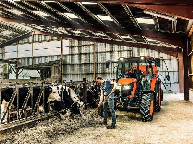 ciągnik do gospodarstwa hodowlanego