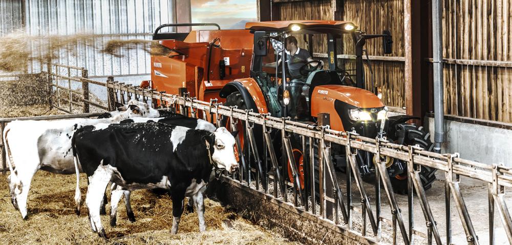 Właściwy ciągnik do gospodarstwa hodowlanego